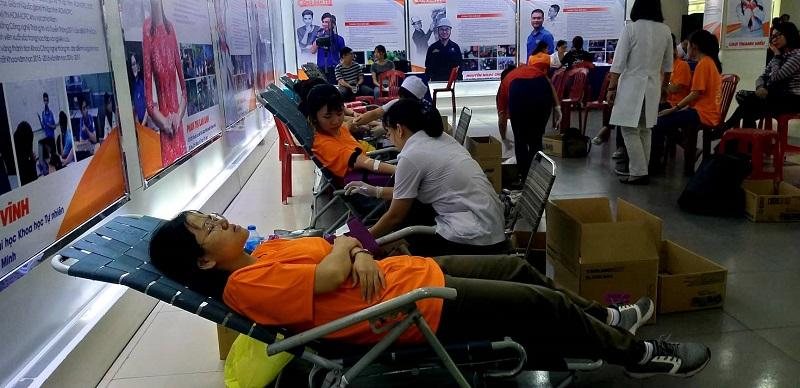 TP. Hồ Chí Minh chuẩn bị nguồn máu dự trữ trong dịp Tết