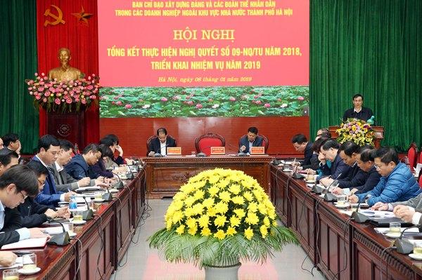Hà Nội kết nạp được 1.242 đảng viên trong các doanh nghiệp ngoài khu vực nhà nước