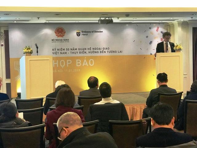 Hợp tác bền vững Việt Nam - Thụy Điển