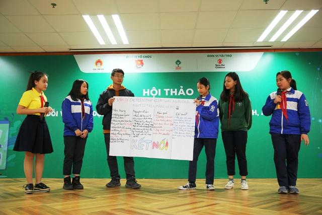 Tiếng nói của thanh thiếu niên đối với xây dựng môi trường mạng lành mạnh, an toàn