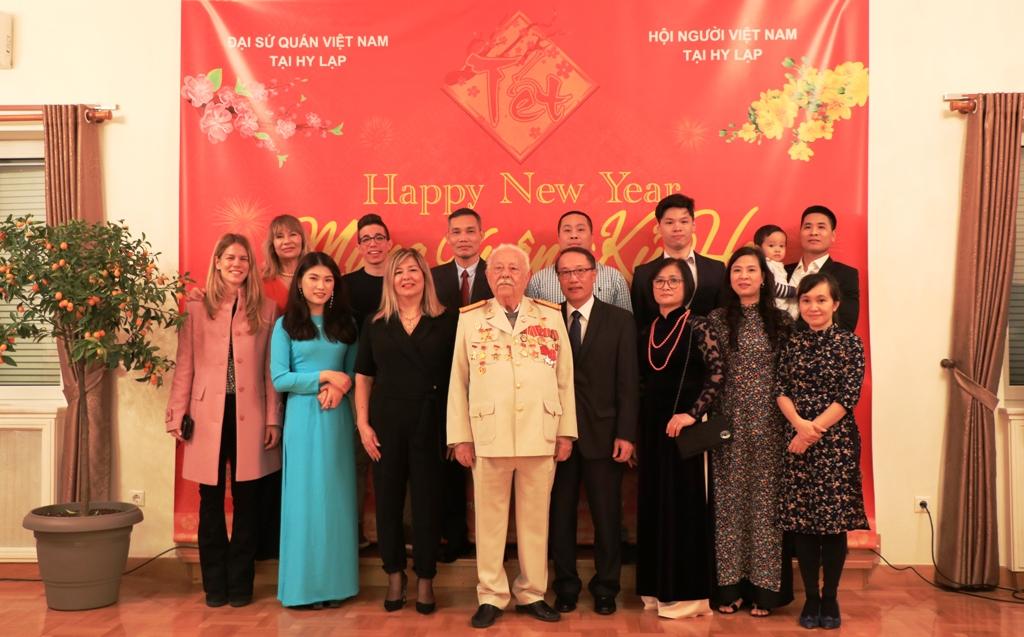 Đại sứ quán Việt Nam tại Hy Lạp tổ chức Tết Cộng đồng mừng Xuân Kỷ Hợi