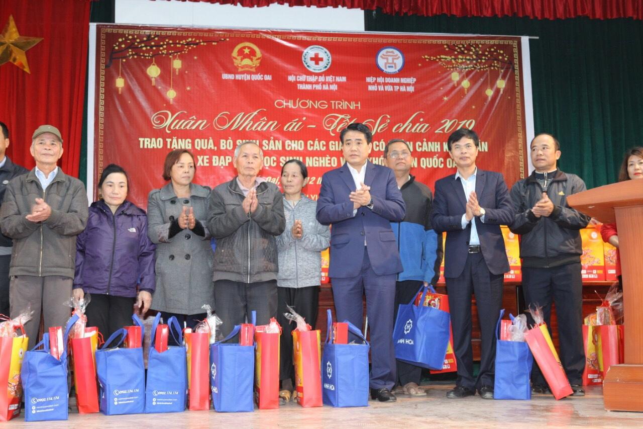 Chủ tịch TP Hà Nội kiểm tra công tác chuẩn bị Tết tại huyện Quốc Oai