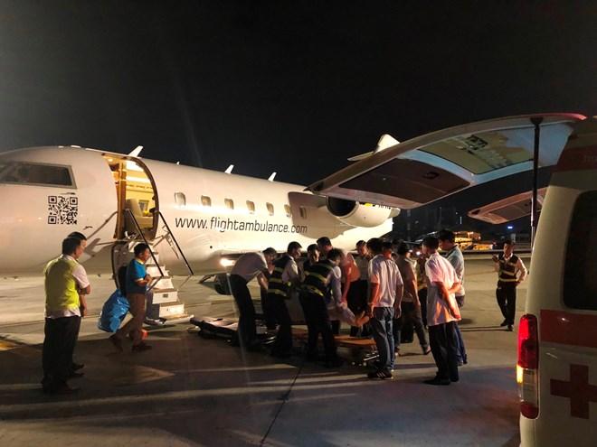 Vụ đoàn khách Việt Nam bị đánh bom ở Ai Cập: Ba du khách cuối cùng đã về nước an toàn