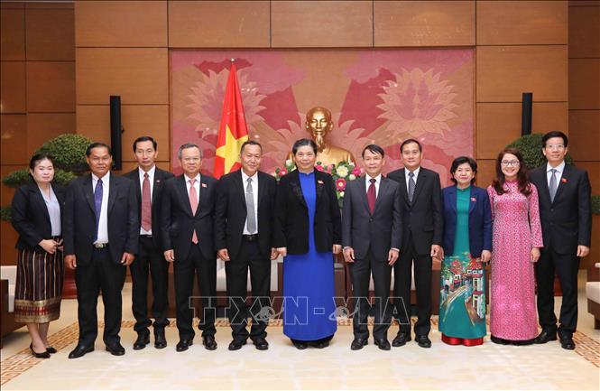 Tăng cường hợp tác giữa Thông tấn xã Việt Nam và Thông tấn xã Pathet Lào