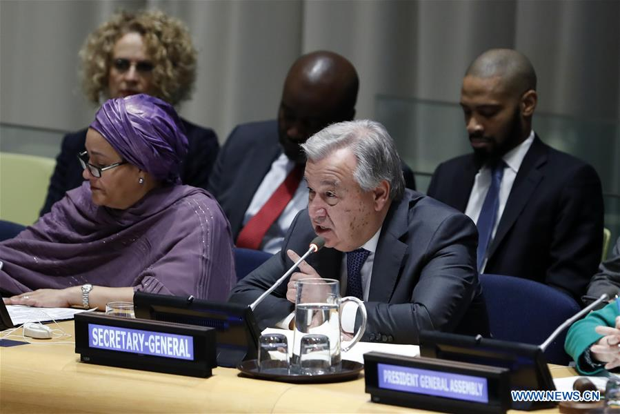 Thế giới tuần qua: Liên hợp quốc đề ra 5 mục tiêu trọng tâm năm 2019