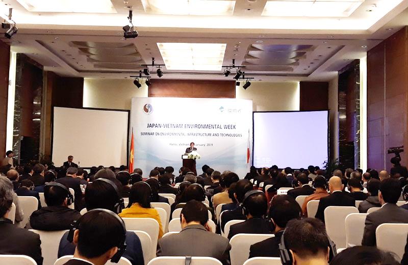 Đẩy mạnh hợp tác phát triển công nghệ môi trường giữa Việt Nam và Nhật Bản