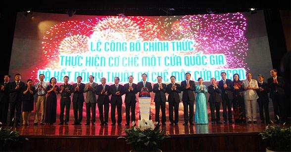 Việt Nam và cơ chế kết nối một cửa quốc gia ASEAN