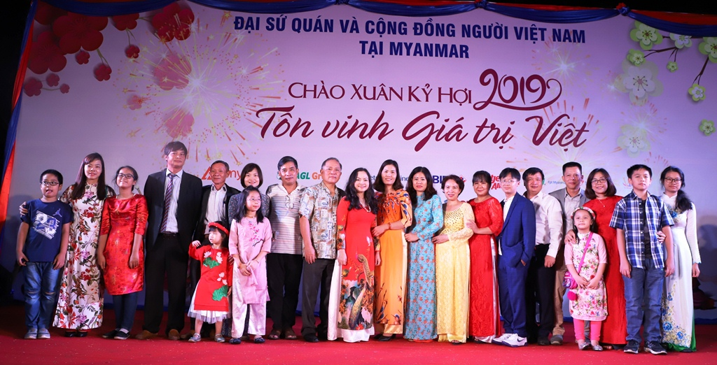 Người Việt tại Myanmar tưng bừng đón Tết