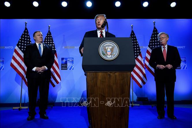 Tổng thống Mỹ hối thúc các đồng minh NATO chia sẻ chi phí an ninh