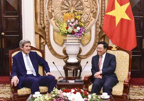 Làm sâu sắc hơn quan hệ Việt Nam - Hoa Kỳ