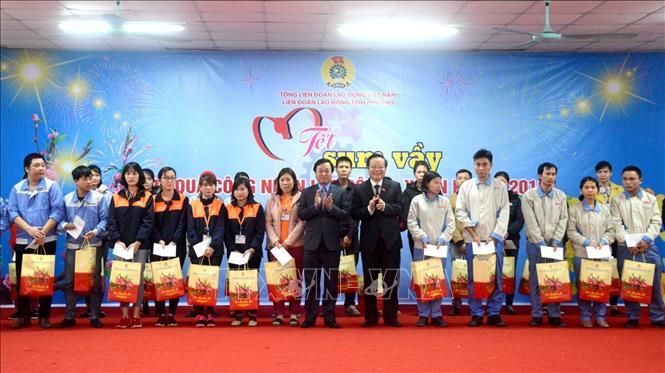 """Phó Chủ tịch Quốc hội Phùng Quốc Hiển dự Chương trình """"Tết sum vầy"""" tại Phú Thọ"""