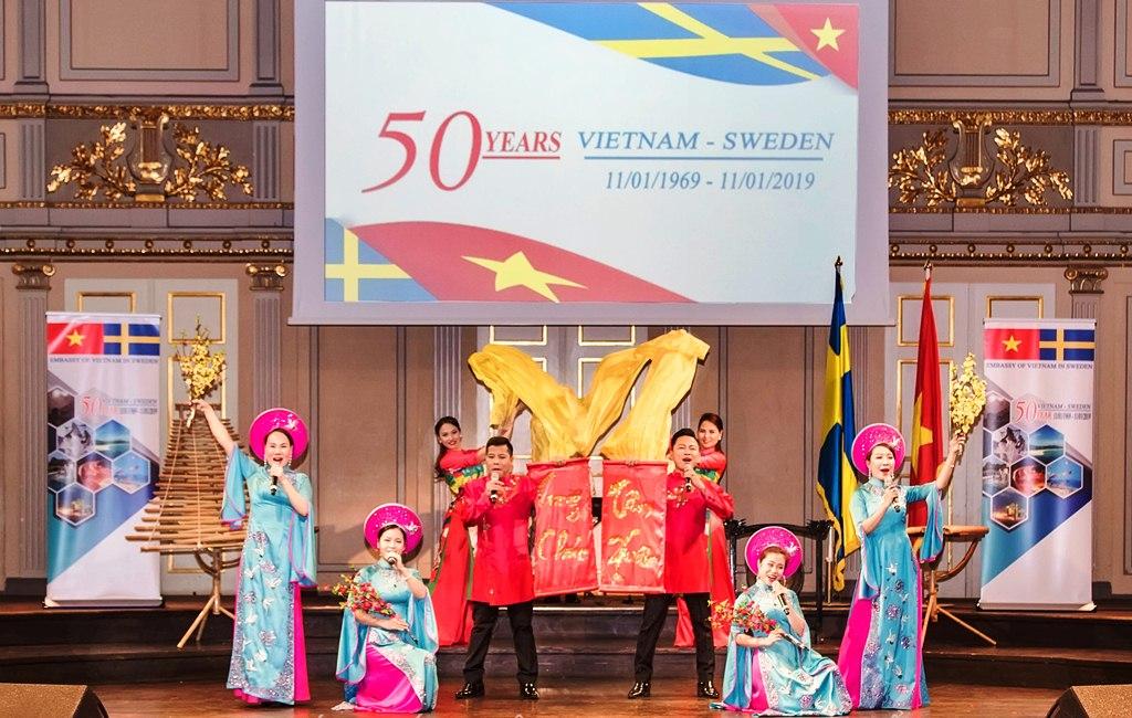 Việt Nam – Thụy Điển: Tình bạn nửa thế kỷ
