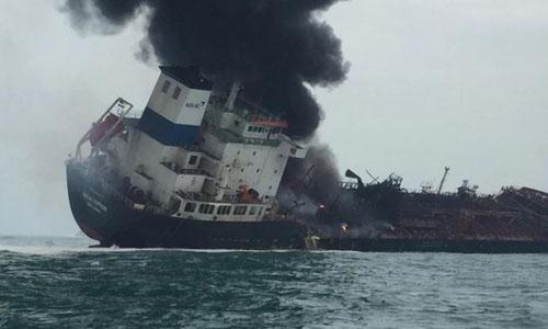 Tàu AulacFortune gặp nạn tại khu vực biển Hồng Kông