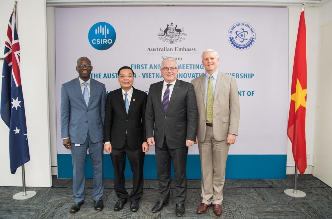 Việt Nam - Australia đẩy mạnh hợp tác về khoa học kỹ thuật