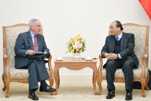 Cựu Đại sứ Hoa Kỳ quan tâm việc nhượng quyền khai thác cao tốc Hà Nội - Hải Phòng