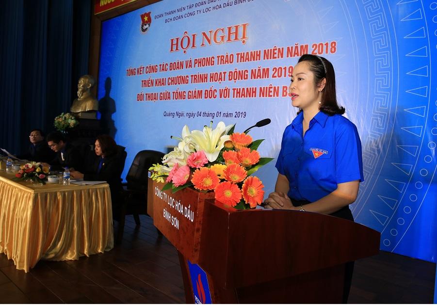 Thanh niên BSR đối thoại với Ban lãnh đạo Công ty