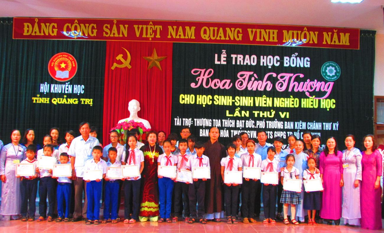 Năm 2019, Quảng Trị phấn đấu huy động ít nhất 34 tỷ đồng cho khuyến học