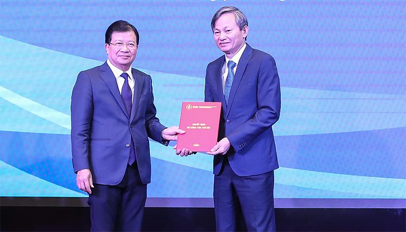 Ông Trần Đình Nhân được bổ nhiệm làm Tổng Giám đốc Tập đoàn Điện lực Việt Nam