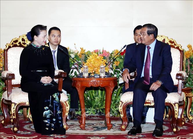 Thúc đẩy hơn nữa quan hệ hữu nghị truyền thống Việt Nam - Campuchia