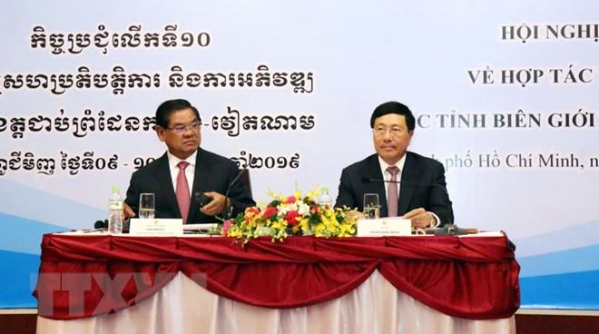 Thông cáo chung về hợp tác-phát triển biên giới Việt Nam-Campuchia