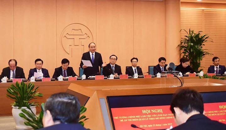Thủ tướng Nguyễn Xuân Phúc: Tạo cơ chế tốt hơn cho Thủ đô