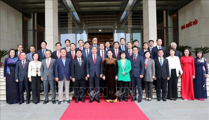 Phát huy vai trò cầu nối giữa Quốc hội, nhân dân hai nước Việt - Hàn