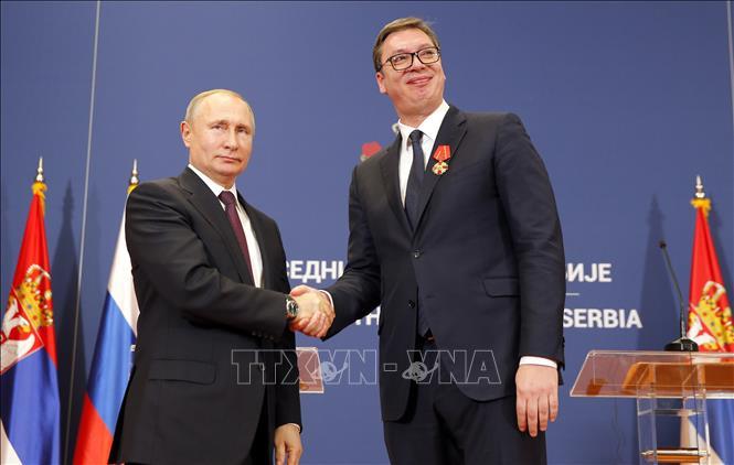 Nga, Serbia tăng cường quan hệ đối tác chiến lược