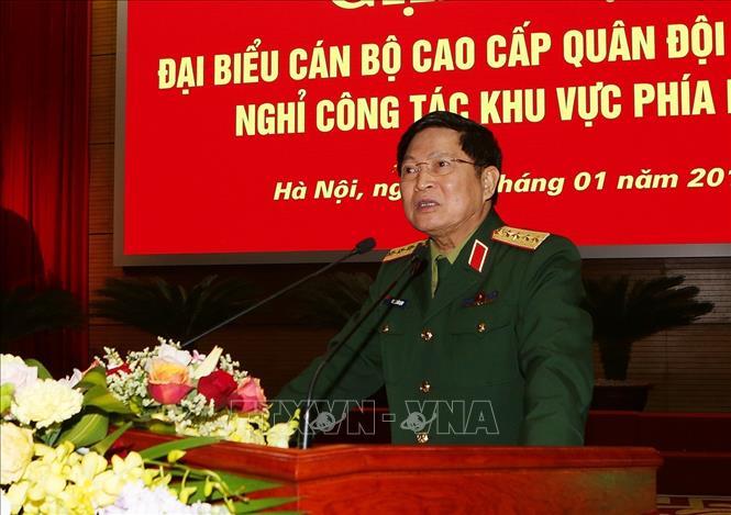 Đoàn kết, phấn đấu xây dựng Quân đội vững mạnh toàn diện