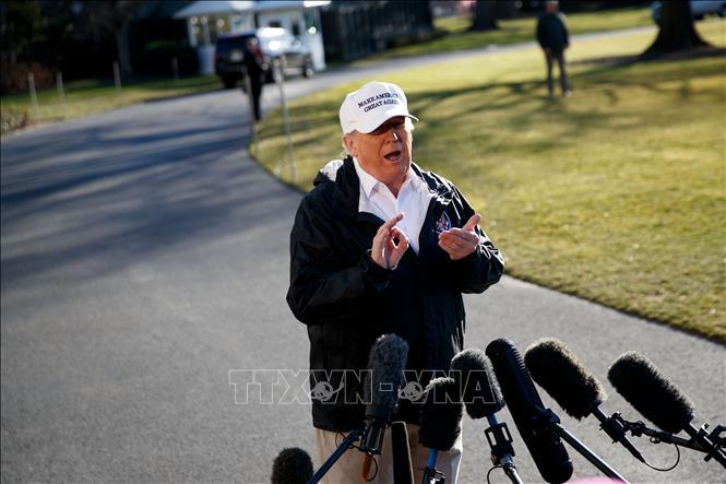 Tổng thống Mỹ sẽ không dự WEF nếu chính phủ tiếp tục đóng cửa