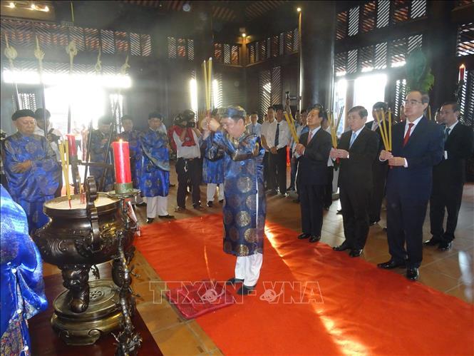 Tri ân gương sáng trung quân ái quốc của Đức Lễ Thành Hầu Nguyễn Hữu Cảnh
