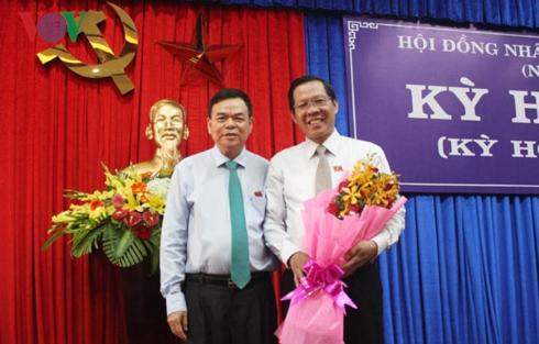Đồng chí Phan Văn Mãi được bầu giữ chức Chủ tịch HĐND tỉnh Bến Tre