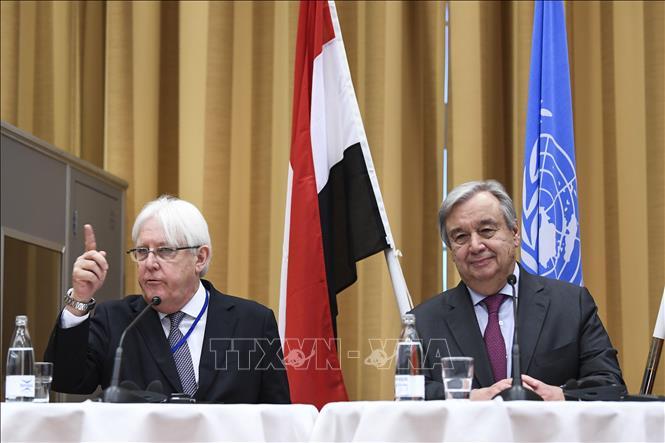 Liên hợp quốc đánh giá tình hình tiến triển tại Yemen