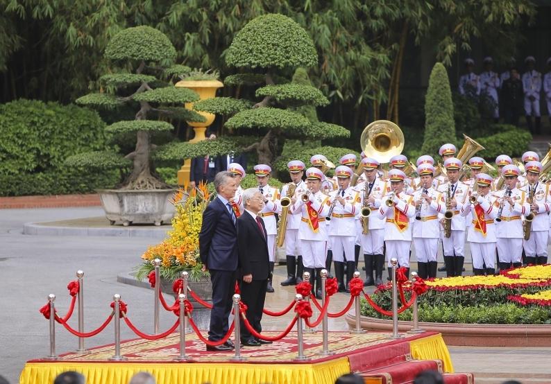 Việt Nam và Ác-hen-ti-na hướng tới thiết lập quan hệ đối tác chiến lược