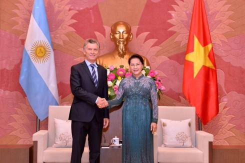 Việt Nam coi Argentina là đối tác quan trọng hàng đầu tại khu vực Mỹ Latinh