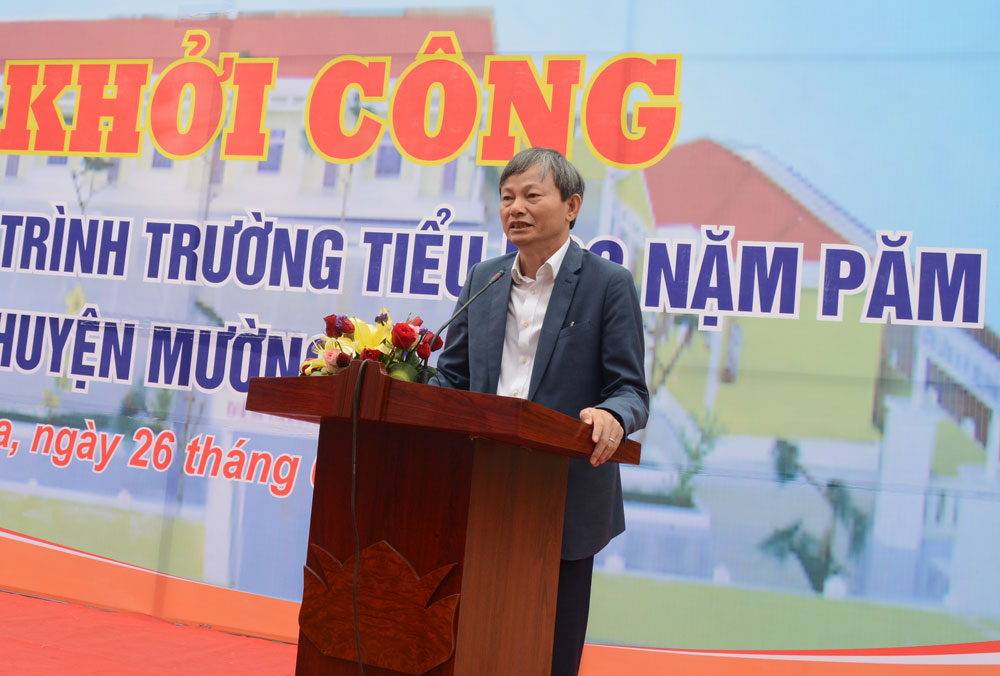 EVN tài trợ 29 tỷ đồng xây dựng cụm trường học tại xã Nặm Păm (Sơn La)