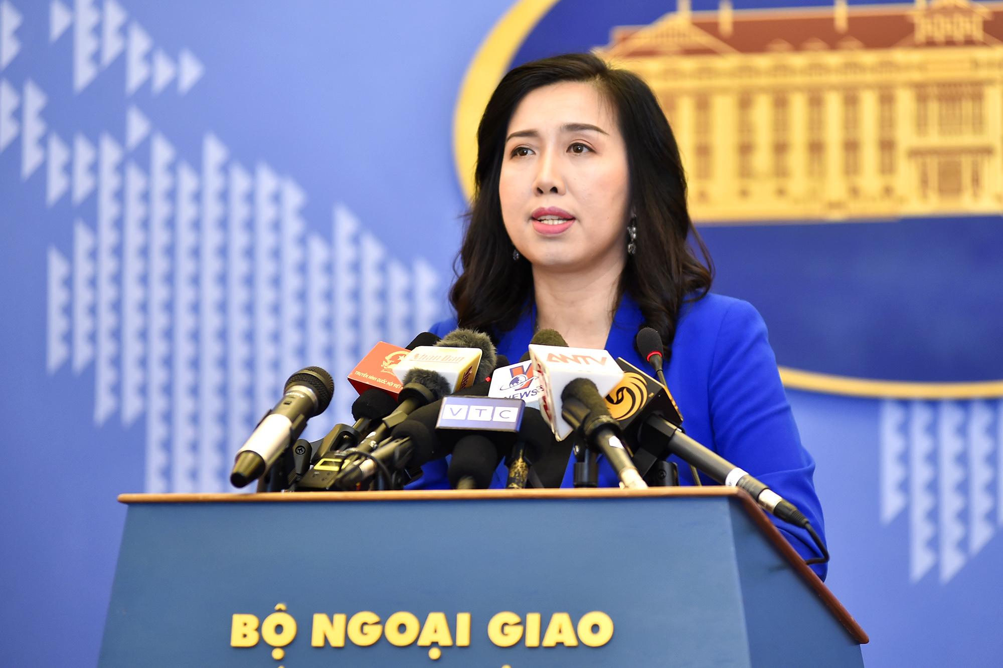 Việt Nam lên tiếng về việc tàu hải quân Hoa Kỳ đi qua khu vực quần đảo Trường Sa