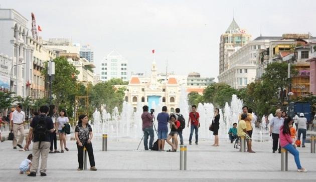 Lượng khách quốc tế đến TP. Hồ Chí Minh tăng mạnh