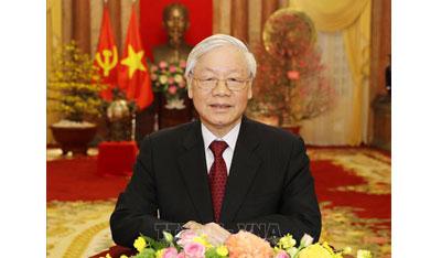 Lời chúc Tết của Tổng Bí thư, Chủ tịch nước Nguyễn Phú Trọng nhân dịp Xuân mới Kỷ Hợi 2019