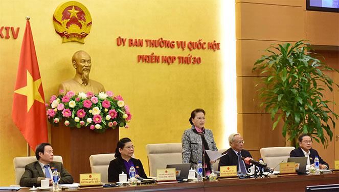 Phân công chuẩn bị Phiên họp thứ 31 của Ủy ban Thường vụ Quốc hội