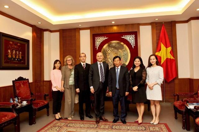 Thúc đẩy hợp tác văn hóa, thể thao và du lịch Việt Nam - Italia