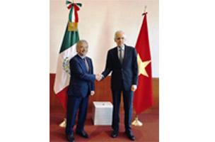 Tăng cường quan hệ hợp tác Việt Nam - Mexico