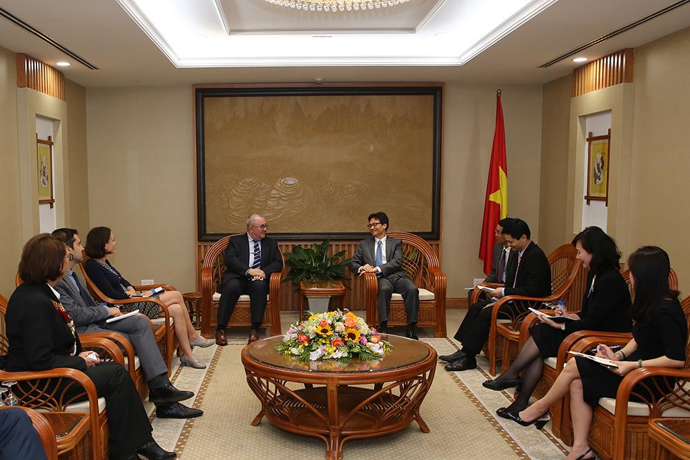 Quan hệ Việt Nam - Bỉ tiếp tục phát triển tích cực