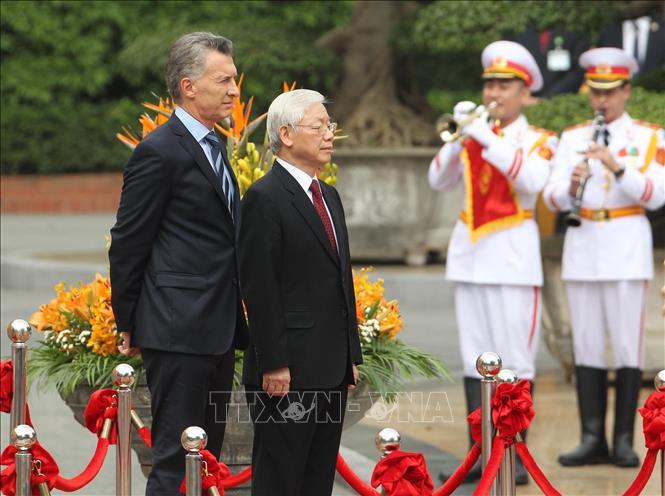 Việt Nam - Argentina hướng tới quan hệ đối tác chiến lược nhằm thúc đẩy thương mại và đầu tư