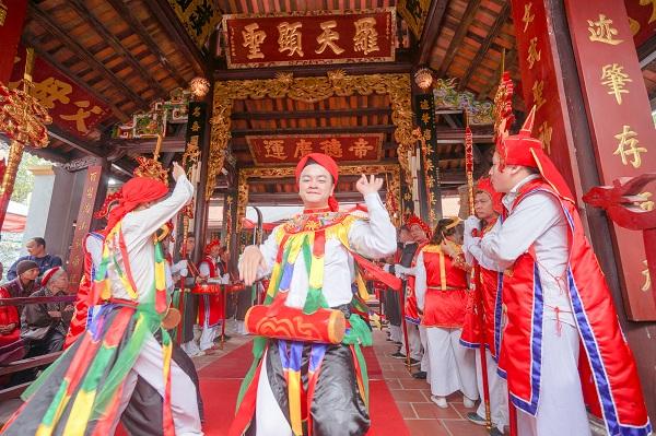 Tưng bừng lễ hội truyền thống làng Triều Khúc