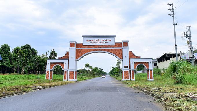 Điều chuyển vốn của Dự án đầu tư xây dựng Đại học Quốc gia Hà Nội