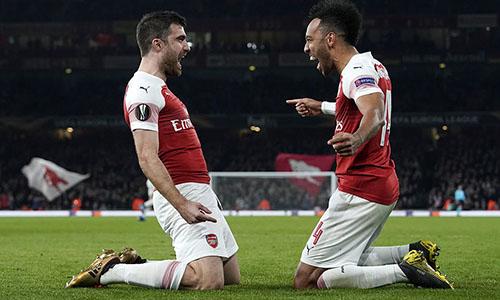 Ngược dòng thành công, Arsenal đi tiếp tại Europa League