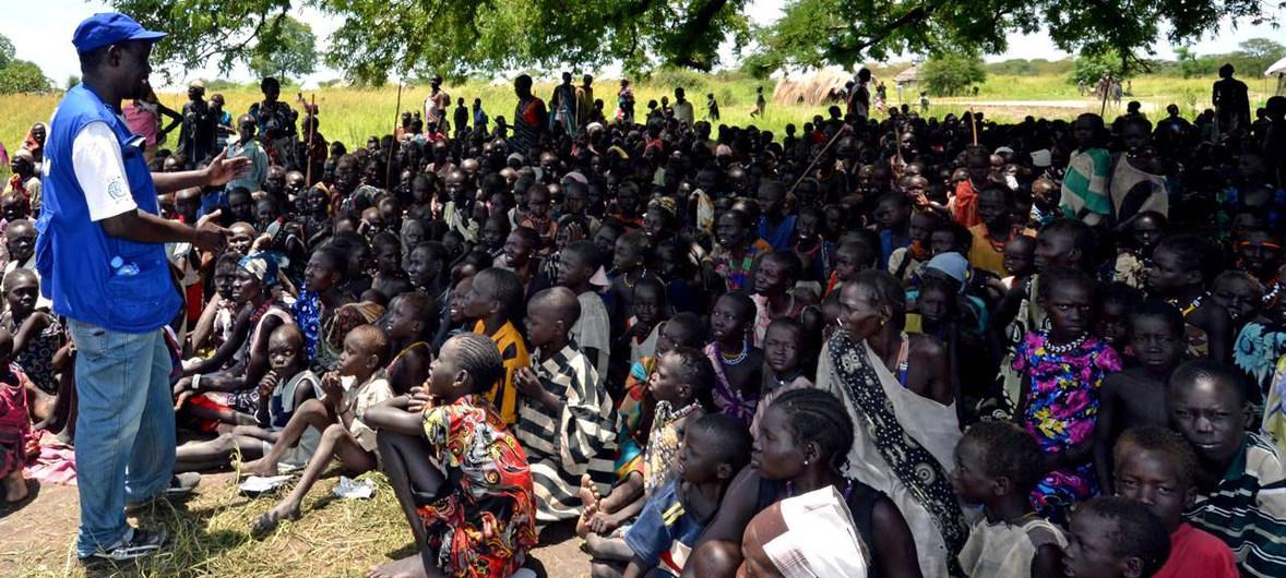 Hàng vạn người dân Nam Sudan phải đi lánh nạn do xung đột