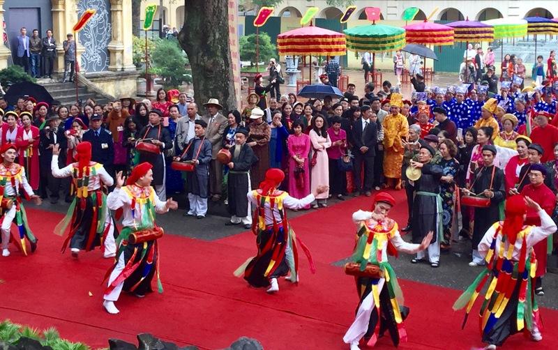 Lễ hội làng Triều Khúc được công nhận là di sản văn hóa phi vật thể quốc gia