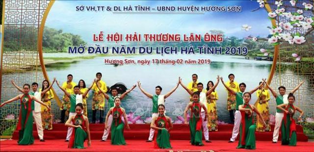 Lễ hội Hải Thượng Lãn Ông - hoạt động mở đầu năm du lịch Hà Tĩnh 2019