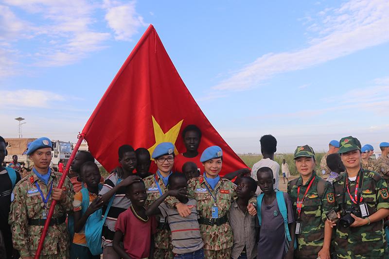 Việt Nam đóng góp tích cực, hiệu quả cho hoạt động gìn giữ hòa bình